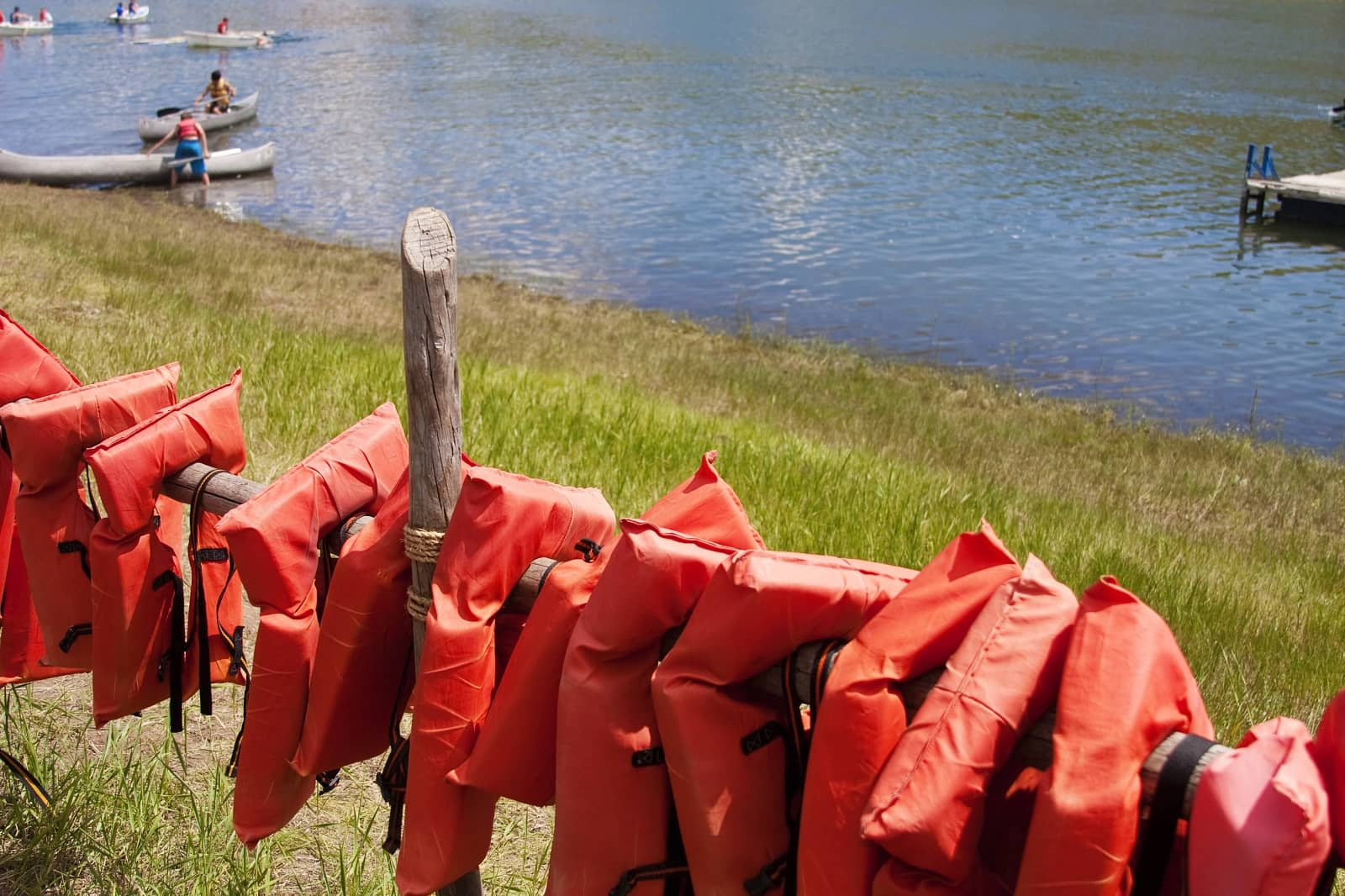 camp lifejackets