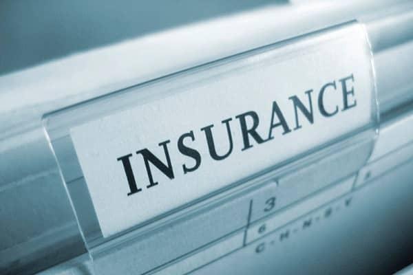 Insurance Folder Tab