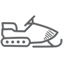 Snowmobile icon