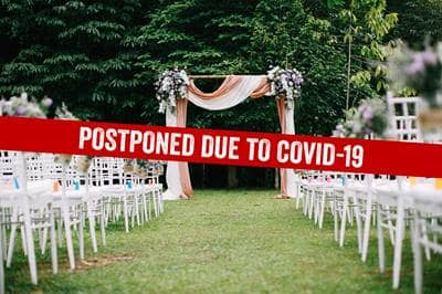 wedding postponed