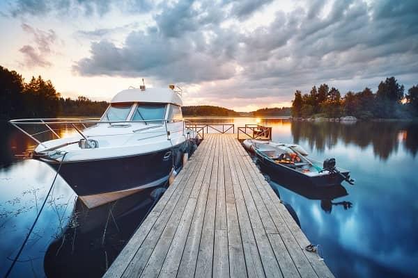 Tips for docking boat