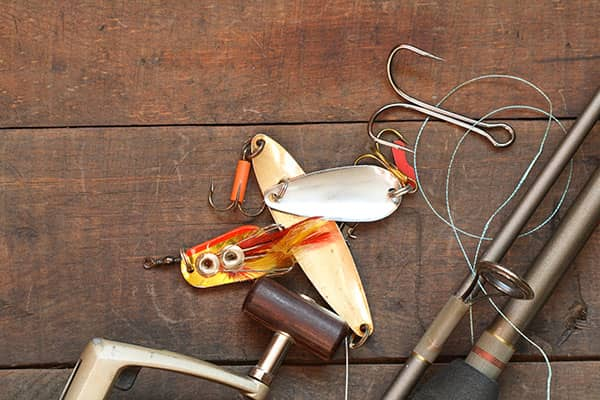 Fishing lure and hook